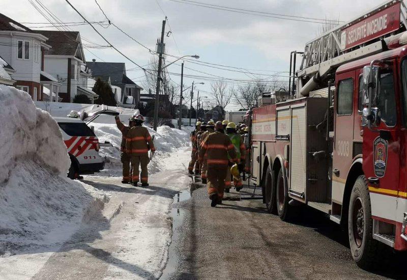 Un incendie mineur dans une résidence de Saint-Hubert et une autre de Brossard