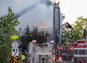 Le feu cause pour 1 M$ de dommage à deux résidences de Boucherville