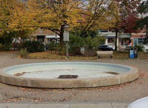 La fontaine fait jaser au parc Gordon