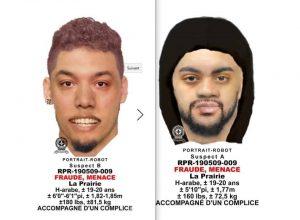 les deux suspects