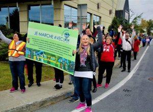 Une grande marche pour l'inclusion sociale partout à Longueuil