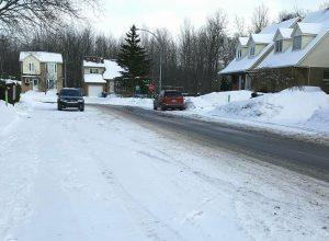 Des sites de dépôts à neige sous surveillance