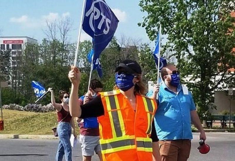grève APTS