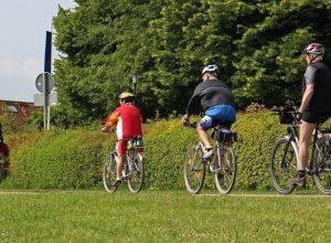 Début des travaux sur une piste cyclable à Sainte-Julie