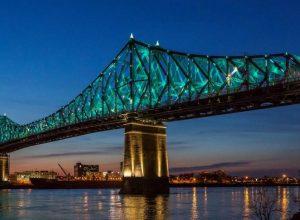Un accident fait un blessé sur le pont Jacques-Cartier