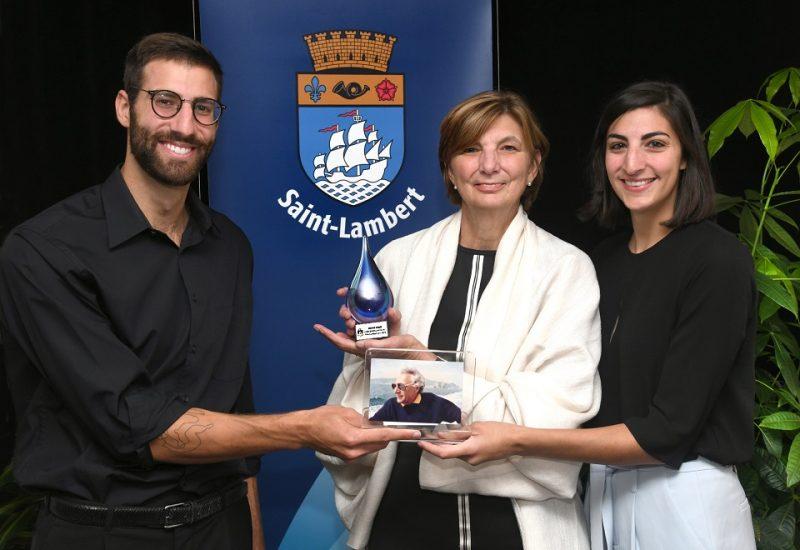 Huit citoyens de Saint-Lambert lauréats des prix Lambertois