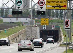 Fermeture d'une sortie de l'autoroute 20