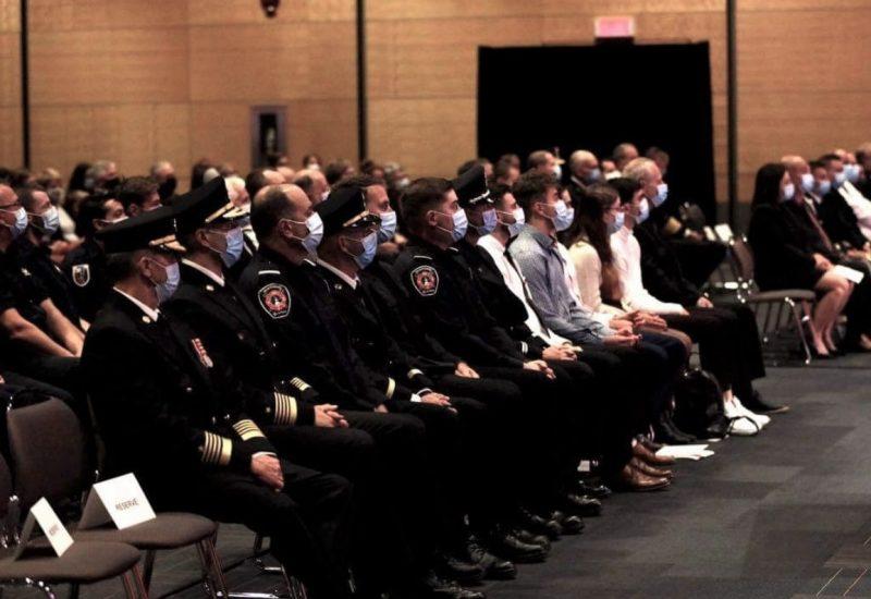 Des pompiers de La Prairie honorés par le gouvernement