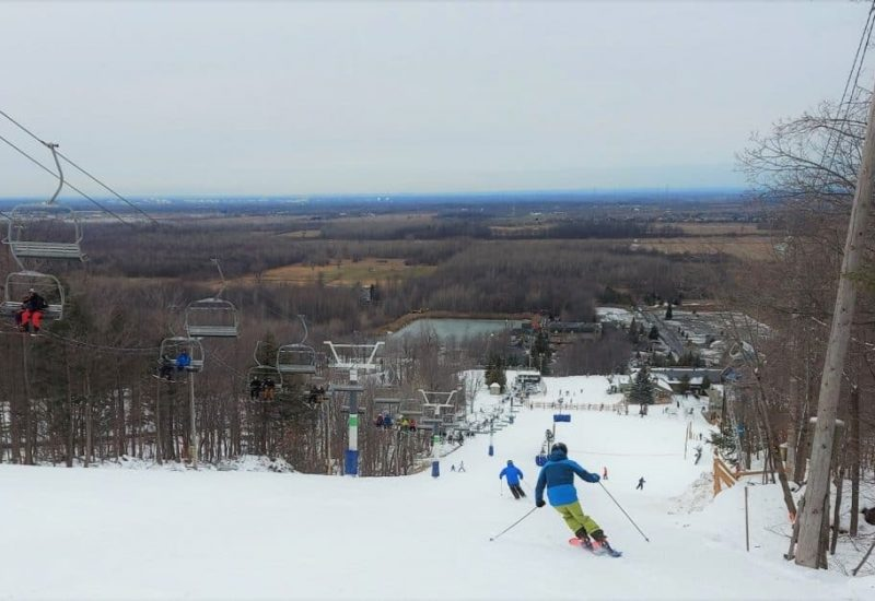 Photo: Ski Saint-Bruno