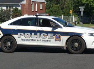 Baisse des interventions policières dans l'agglomération de Longueuil