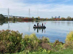 Mise à jour : le corps du quinquagénaire a été repêché du fleuve