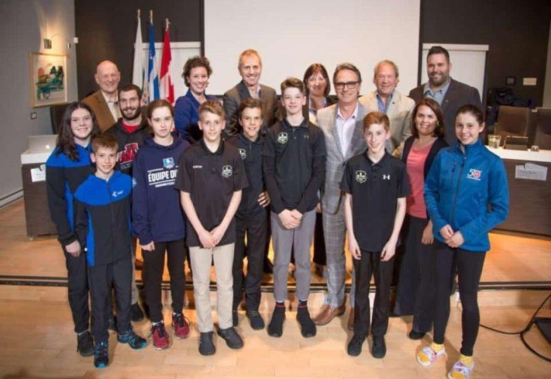 Jeunes sportifs Varennes honorés