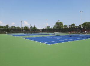De nouveaux terrains de tennis au parc Pierre-Laporte de Longueuil