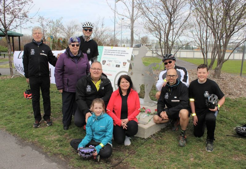 Le Tour du Silence attire 500 cyclistes à La Prairie
