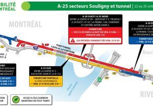 D'autres fermetures dans le secteur du tunnel ce week-end